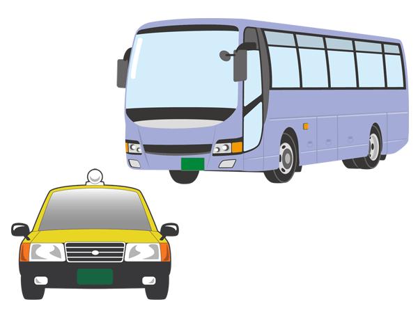 乗り物 タクシー バス 自動車