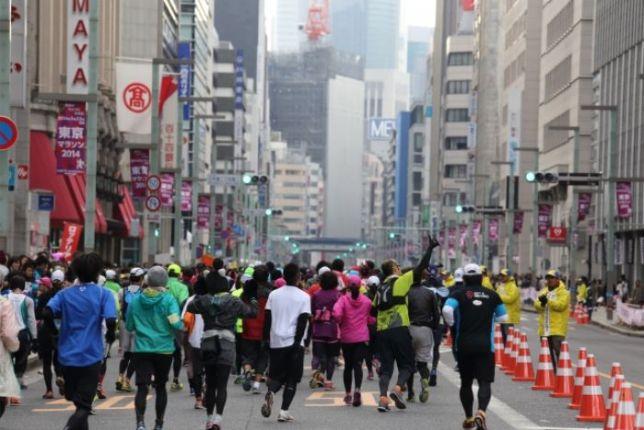 東京マラソンの服装!初心者の注意点は?