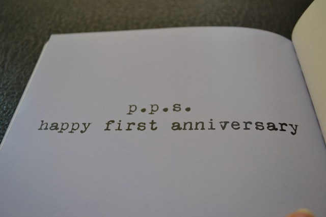 Five for Friday anniversary book