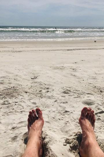 Grounding on the Beach