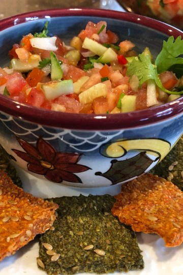 Raw Vegan Pico de Gallo Salsa