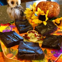 Raw Vegan Pumpkin Brownies