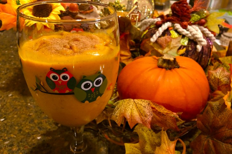 Raw Vegan Pumpkin Smoothie