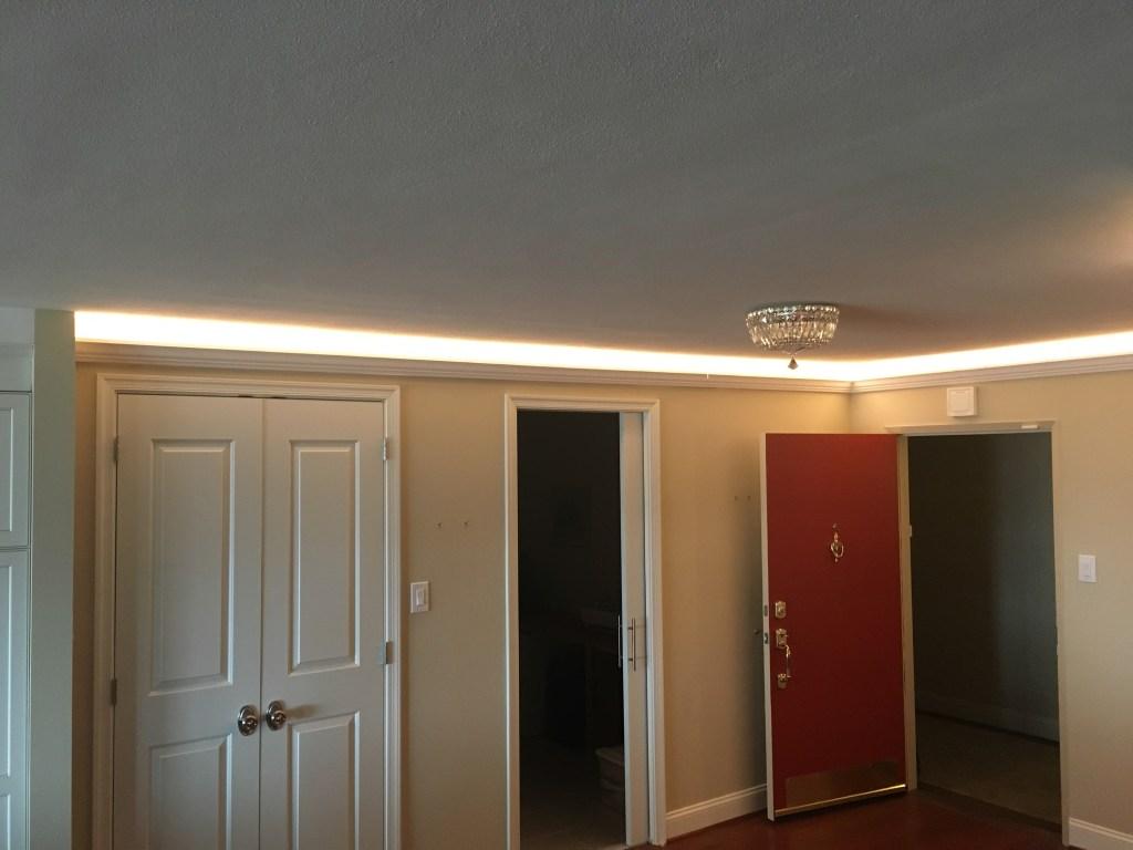crown molding cove led lighting