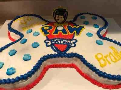 bradley bday cake