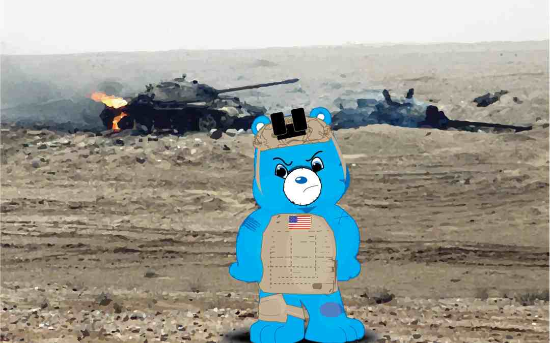 Infantry Bear – Copyright Pending – ;)