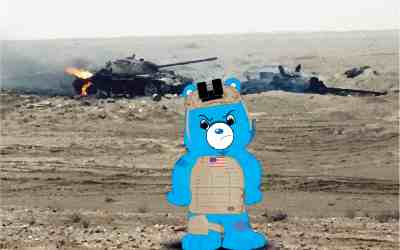 Infantry Bear – Copyright Pending – ;)