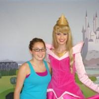 Aurora or Sleeping Beauty or perhaps Briar Rose - Magic Kingdom Town Square Theater