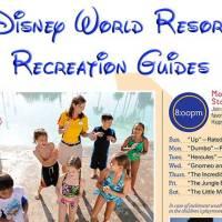 Resort Recreation Activities Calendars