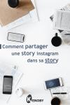 Comment partager une story instagram dans sa story
