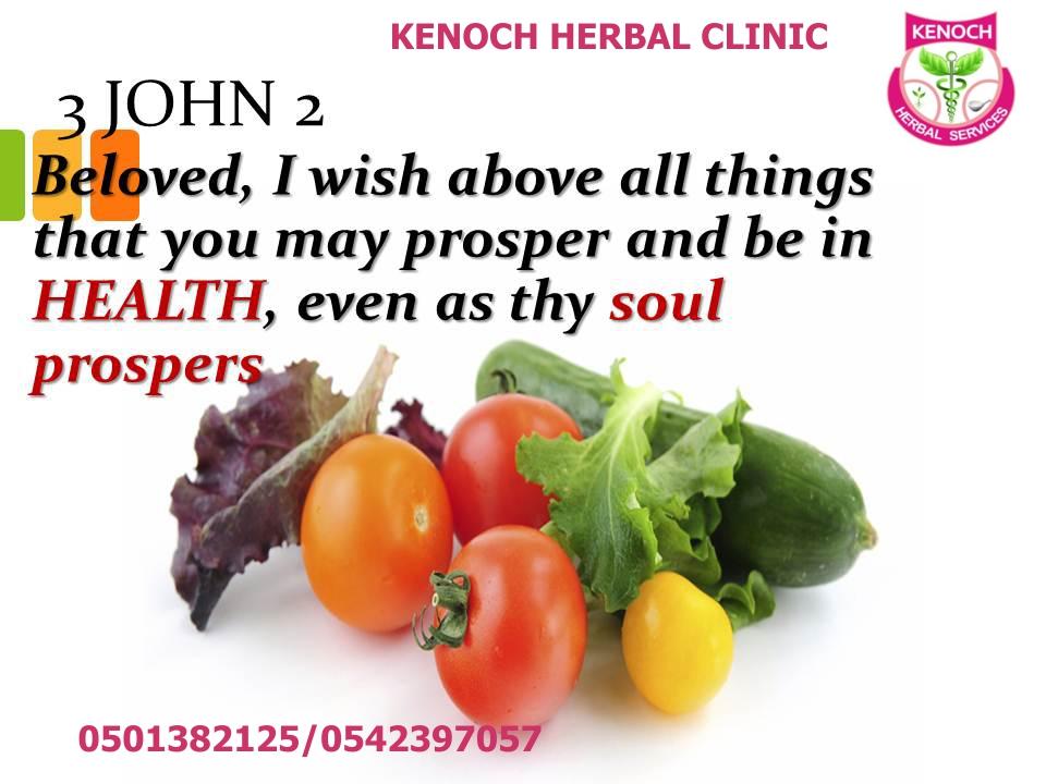 Prevention & Wellness - KENOCH HG HERBAL CLINIC