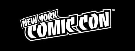 new york comic con logo - black and white, nycc logo, convention logos