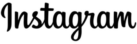 instagram word logo