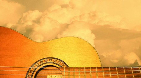 Guitar and Clouds