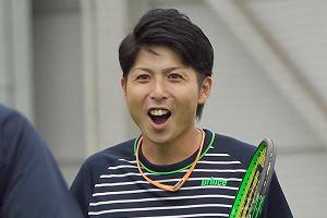 永澤コーチプレー写真