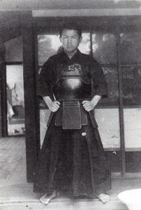 Fujimoto Kaoru at the tenran shiai