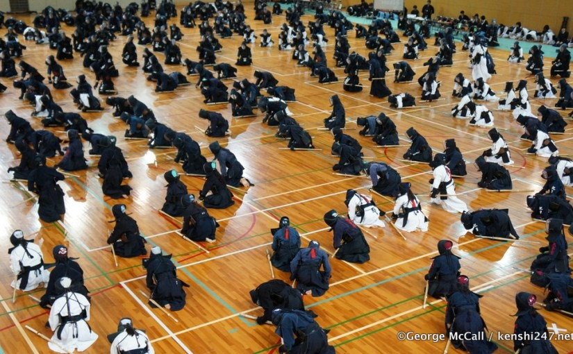 The kendo practitioner and rei (etiquette)