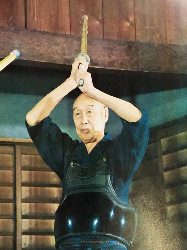 Mochida sensei at Noma dojo