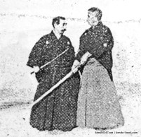 Nakayama Hakudo and Takano Sasaburo