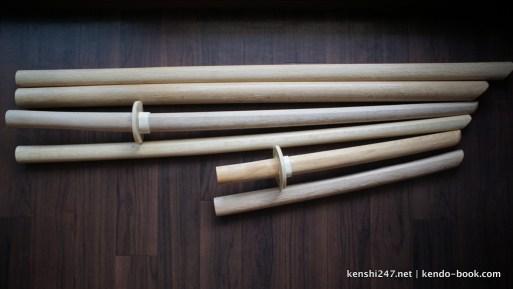 Various koryu bokuto
