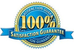Satisfactionfaction Guarantee