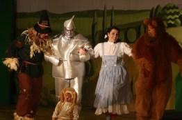 Wizard of Oz - Dorothy, Lion, Tin Man, Scarecrow, Toto