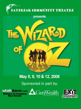 Wizard of Oz - Show Poster