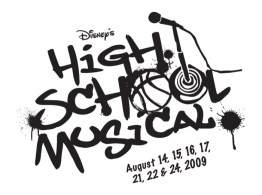 High School Musical Logo Black