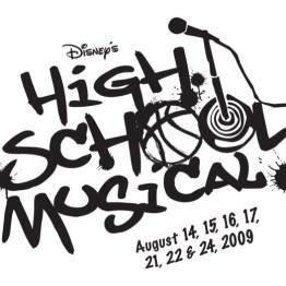 High School Musical Logo Black