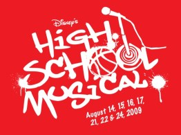 High School Musical Logo Red Box