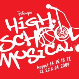 High School Musical Logo Red Box