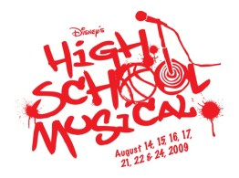 High School Musical Logo Red