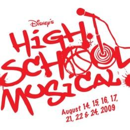 High School Musical Logo Red