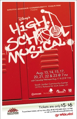 High School Musical Show Poster