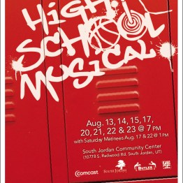 High School Musical Show Poster
