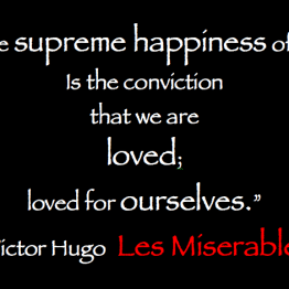 Les Miserables Quotation