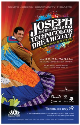 Joseph Amazing Technical Dreamcoat Show Poster