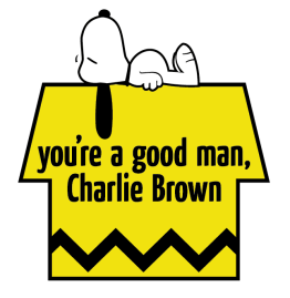 You're a Good Man, Charlie Brown Logo