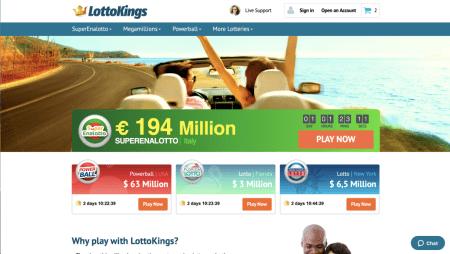 LottoKings. True Lottery Royalty!