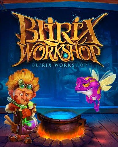 Blirix Workshop slot game by IronDog Studios