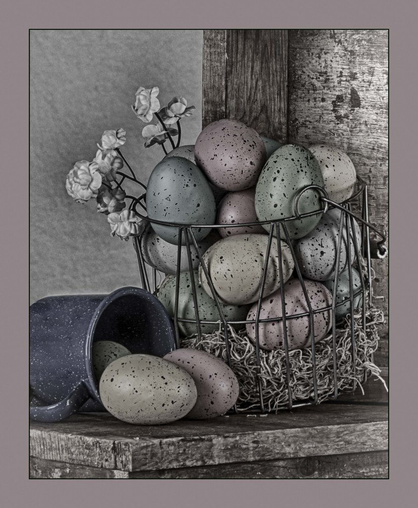 Old Fashioned Basket of Eggs by Kens Portrait Photography. We were in the Studio working on our Easter mini-session family portrait promotion. We were using some of the Easter-related props to compose this old fashioned basket of eggs image. Some special post-production image processing gives this basket of colored eggs an old fashioned farm table look. One has to wonder what color were the hens that laid these eggs. Bring the family and take advantage of a custom mini session that includes access to beautiful backdrops and fun props such as bunny ears, Easter eggs, and baskets. The studio for Ken's Portrait Photography is located right on the southwest corner of West Capital Park in Albany, NY. In addition to what can be created in the studio, this historic and architecturally rich area provides beautiful backdrops for acting headshots, professional portraits, couple portraits, senior portraits, family portraits, engagement portraits, and wedding portraits.