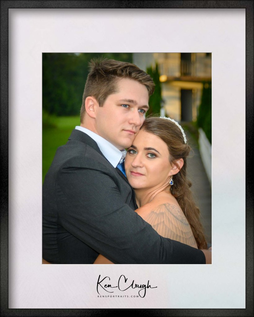 Best Wedding Images of 2019 - 6 of 10 by Kens Portrait Photography. This the sixth in the series of the ten Best Wedding Images of 2019 from Ken's Portrait Photography.  It has been a very busy year at Ken's Portrait Photography and we have been fortunate to capture so many beautiful images from so many loving couples.  We have so many great images we are just going to present then one at a time, in no particular order. This is one of my favorite images from Mikayla and Michael's wedding this summer. Mikayla and Michael's reception was at the Bridge Walk at Perthshire located in Amsterdam, NY. The minute Mikayla and Michael arrived at the Bridge Walk at Perthshire for their reception it started pouring rain. It rained almost for the entire time of reception. The reception and dancing were winding down and I was walking around taking pictures of the crowds and the dancing when I looked outside and noticed that it had stopped raining. I found Mikayla and Michael and told them it has stopped raining outside and asked them if they wanted to take a few outdoor pictures. We snuck out of the reception and were able to capture some special images on the bridge walk. This image is one of my images taken on the bridge walk.