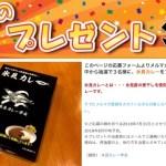 懸賞ブログ_7/12 懸賞情報 カレープレゼント