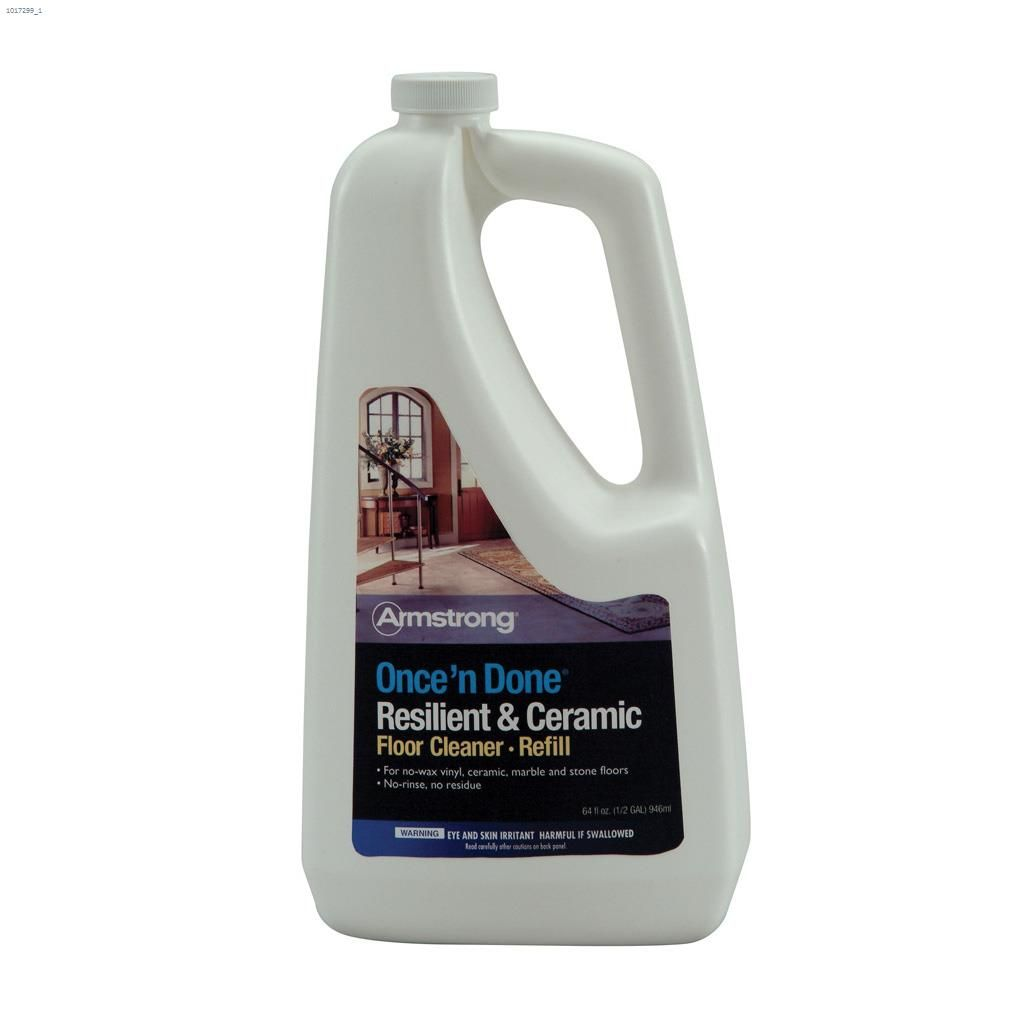 1 9 l once n done resilient ceramic floor cleaner refill