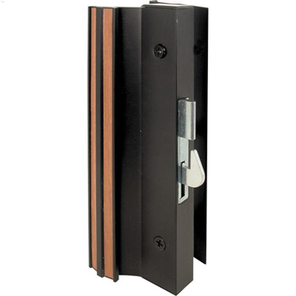 4 15 16 black anodized patio door handle set