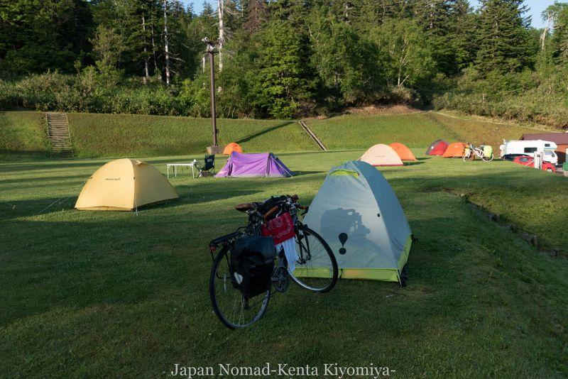自転車日本一周(十勝岳)-Japan Nomad (1)