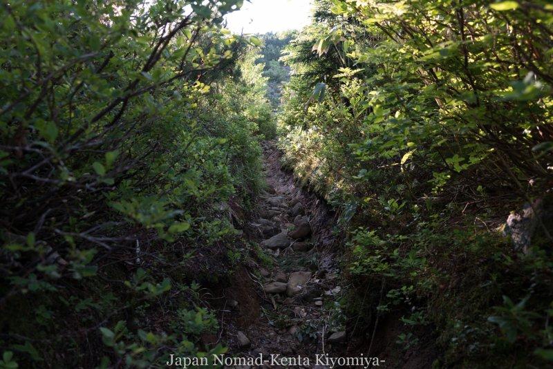 自転車日本一周(十勝岳)-Japan Nomad (6)
