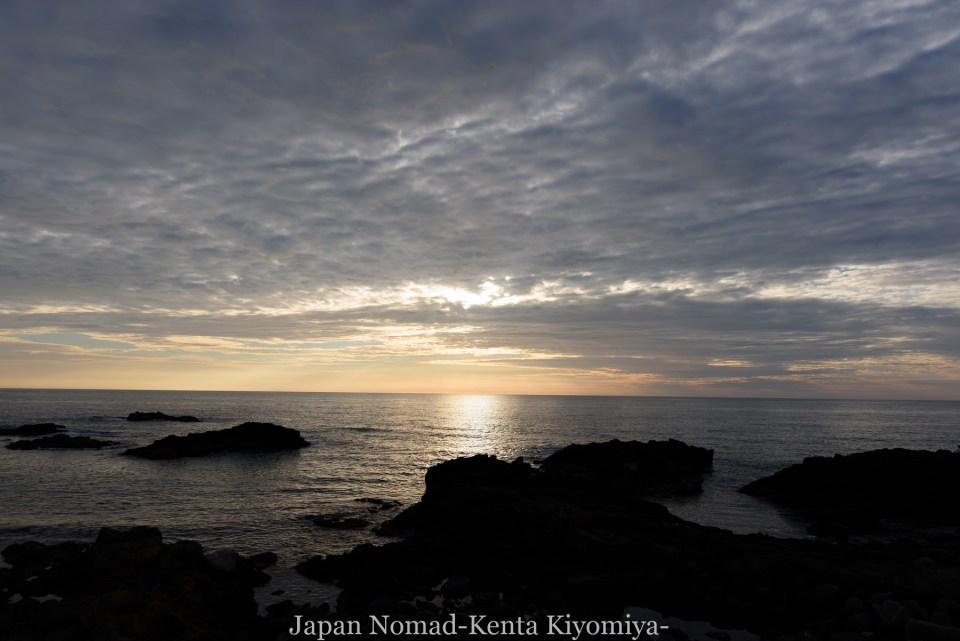 自転車日本一周80日目(留萌黄金岬)-Japan Nomad (21)