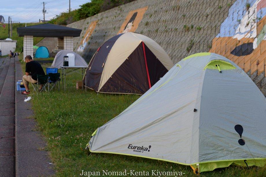 自転車日本一周80日目(留萌黄金岬)-Japan Nomad (27)