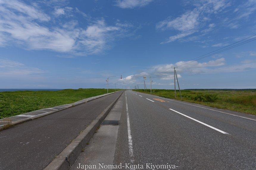 自転車日本一周82日目(オロロンライン)-Japan Nomad (16)